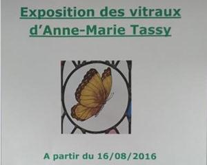 Vitrauxphonia expose sur la côte d'Albâtre